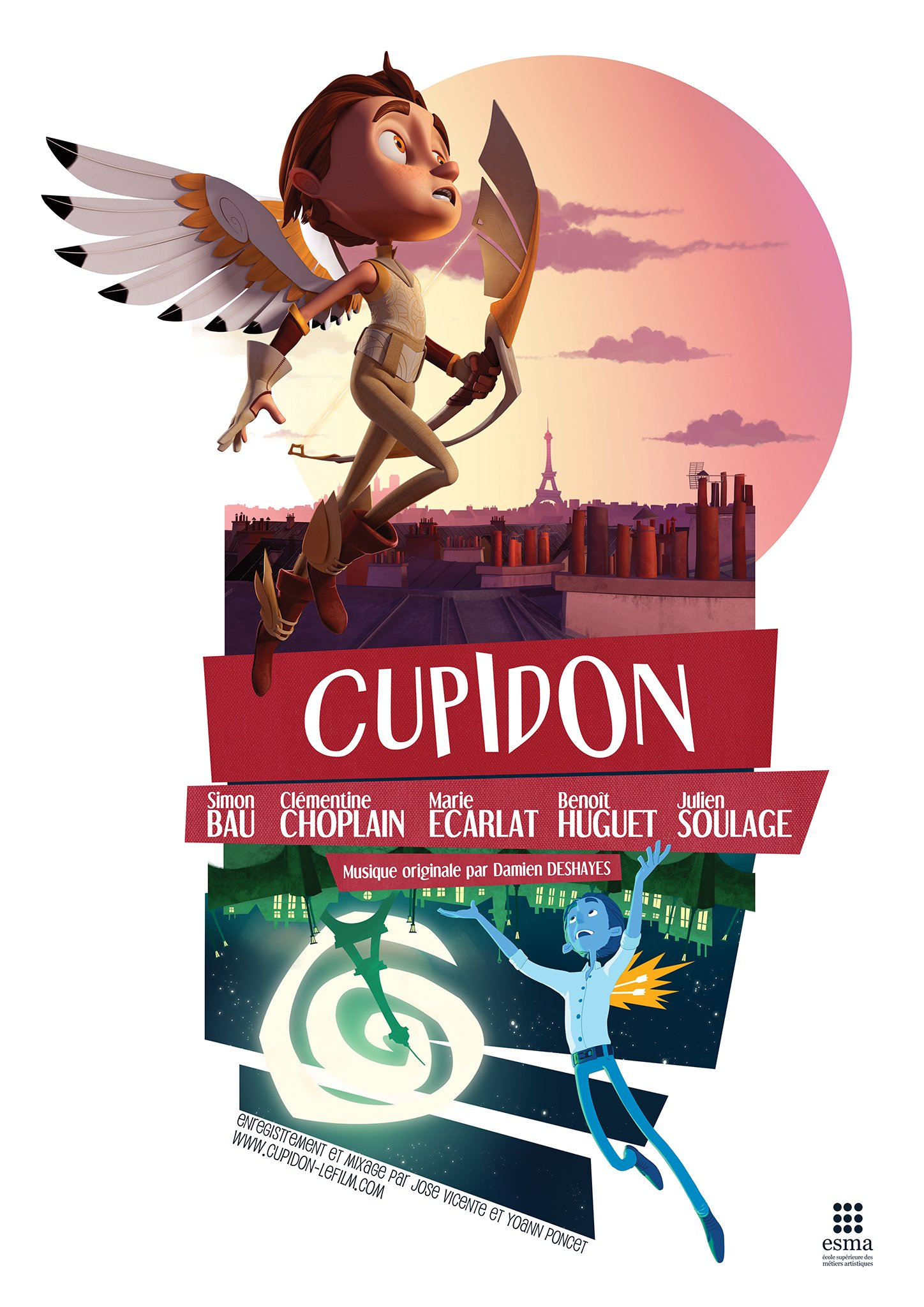 Artstation Cupidon Student Short Film 2012 Simon Bau