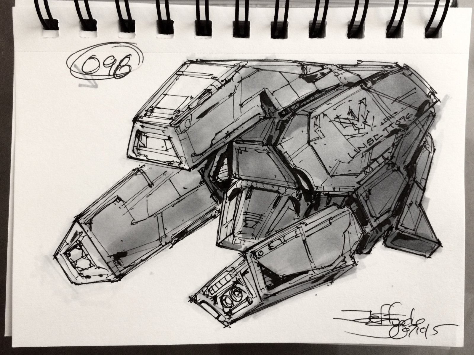 SpaceshipADay 096