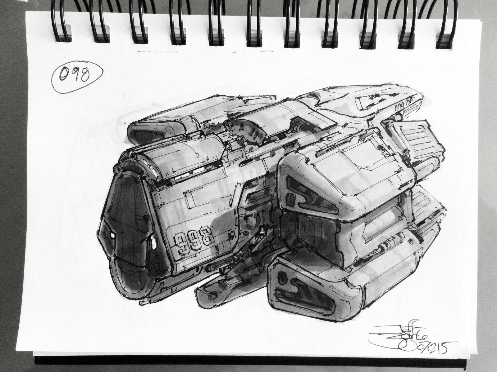 SpaceshipADay 098