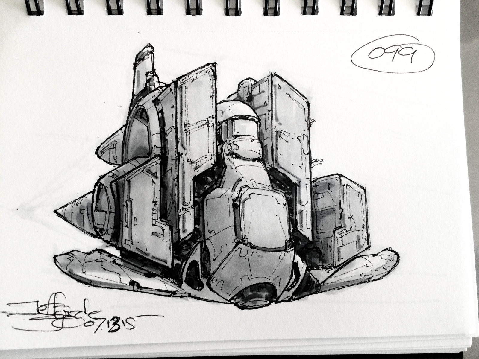 SpaceshipADay 099