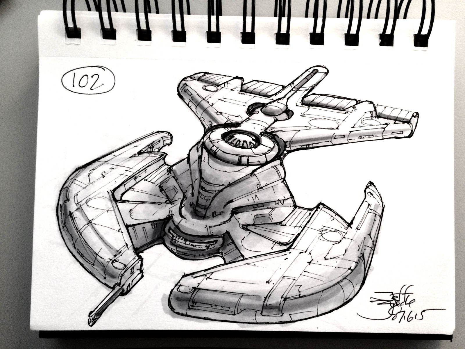 SpaceshipADay 102