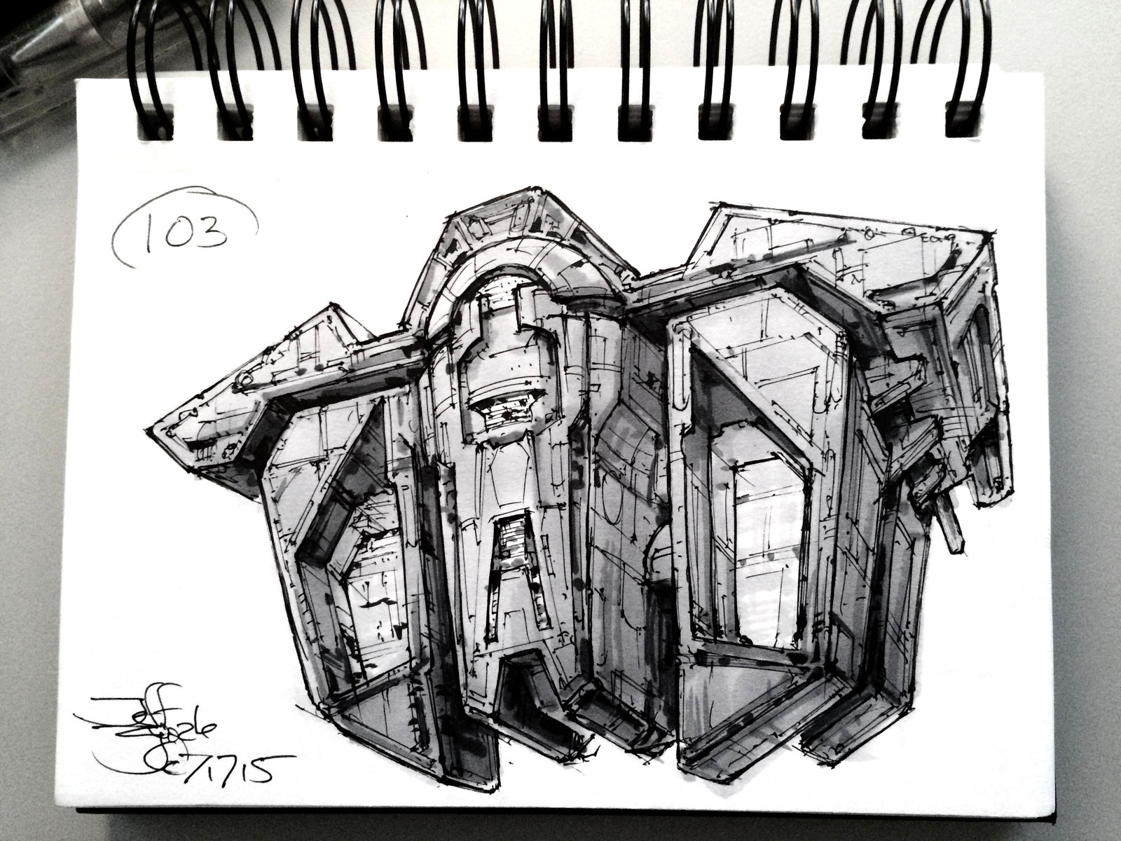 SpaceshipADay 103