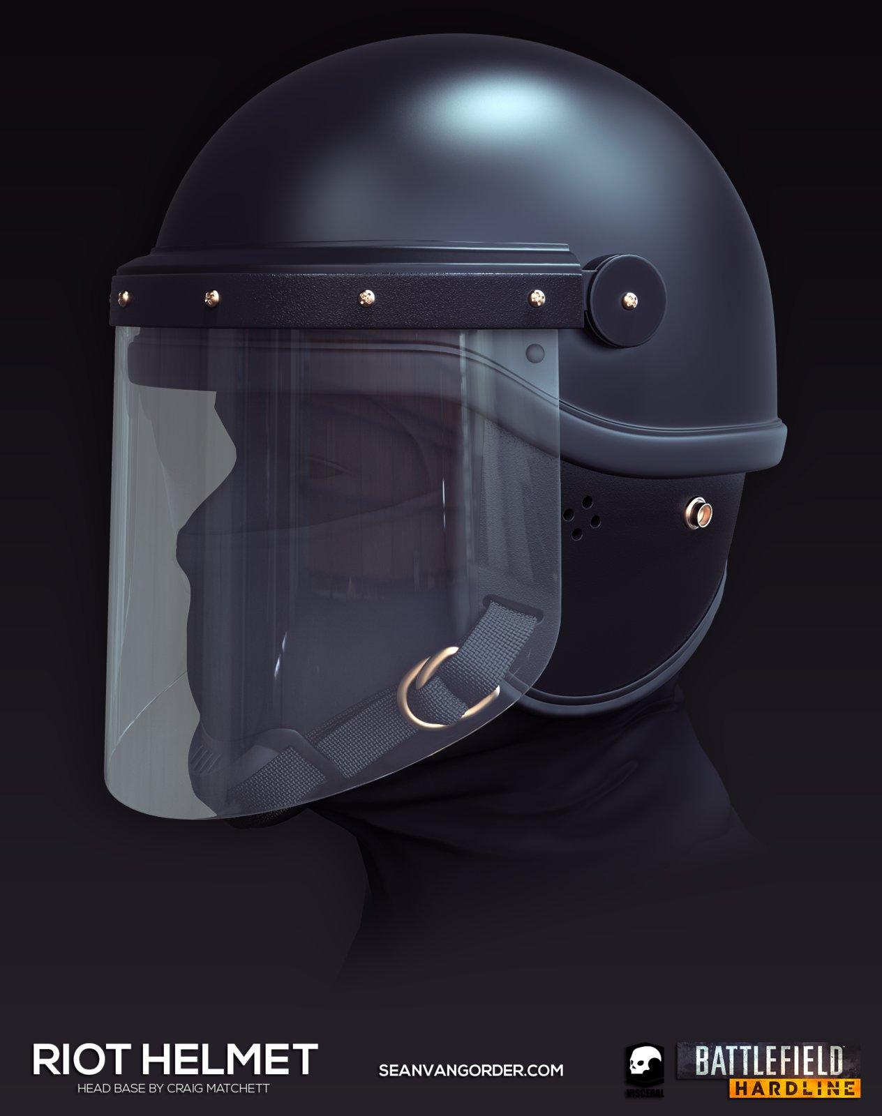 Battlefield: Hardline | Riot Helmet