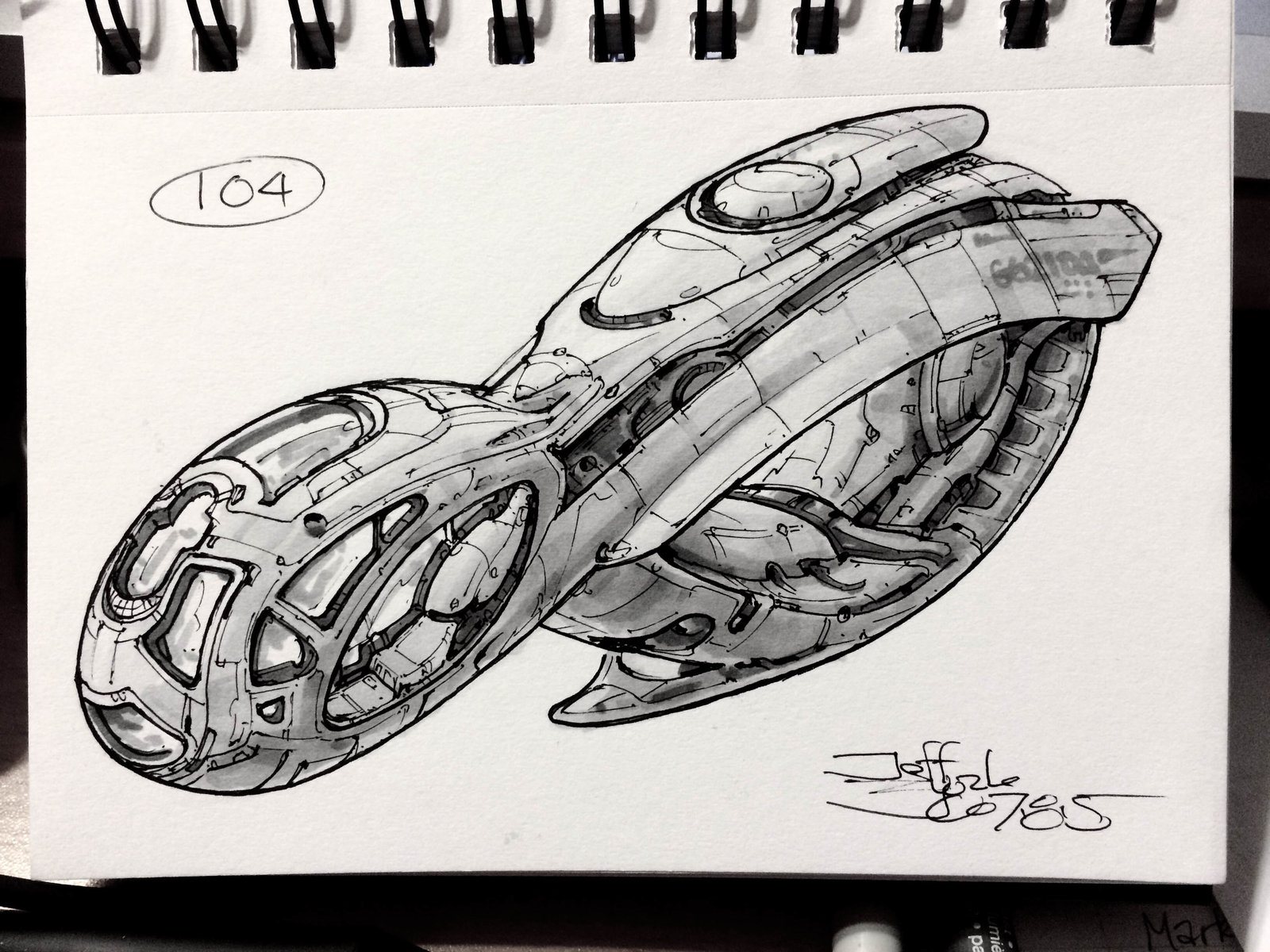 SpaceshipADay 104