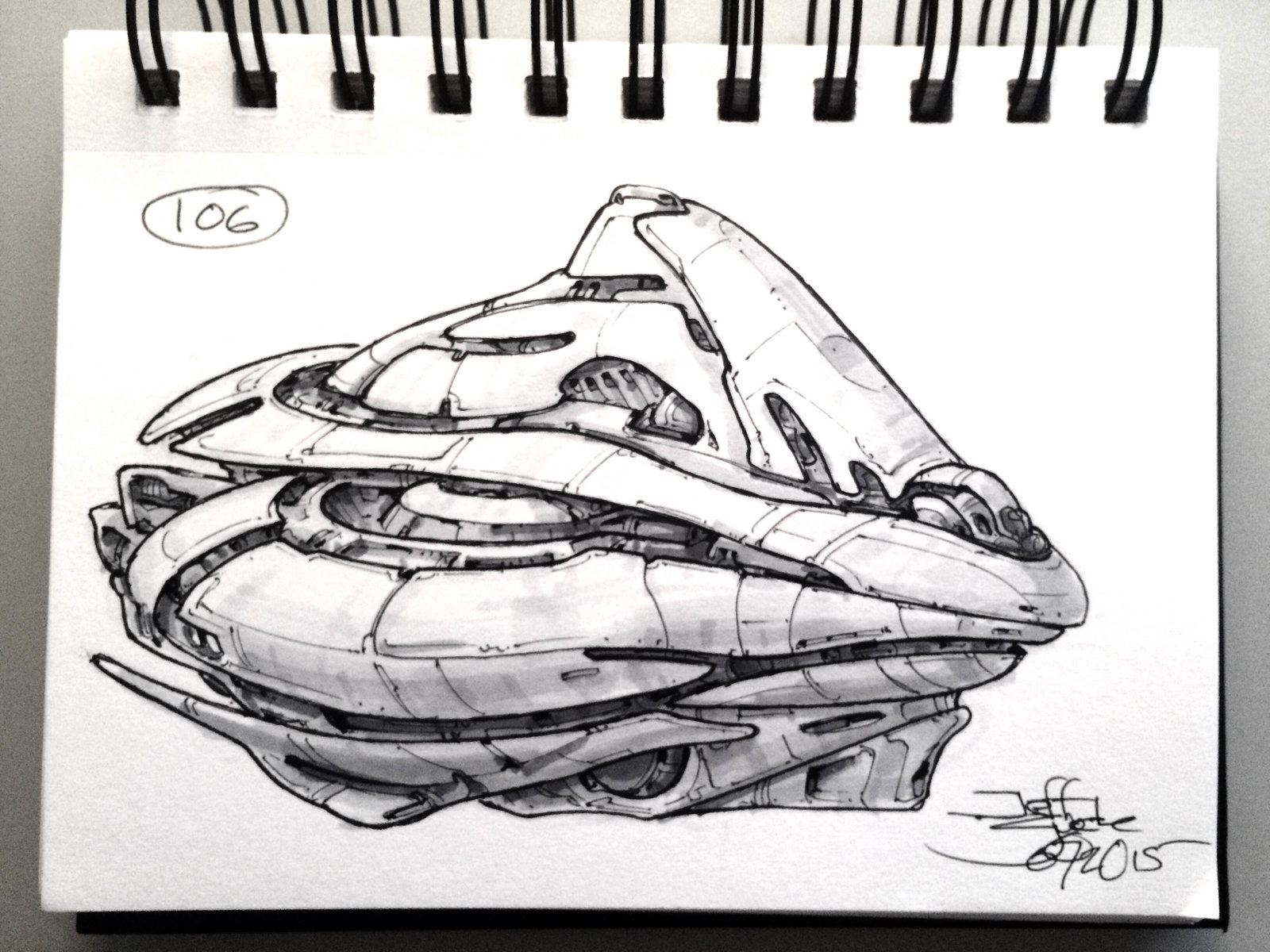 SpaceshipADay 106