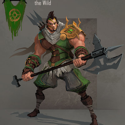 Muyoung kim wild character v2