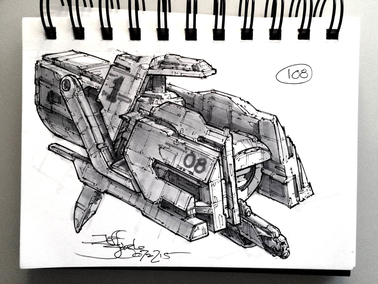 SpaceshipADay 108