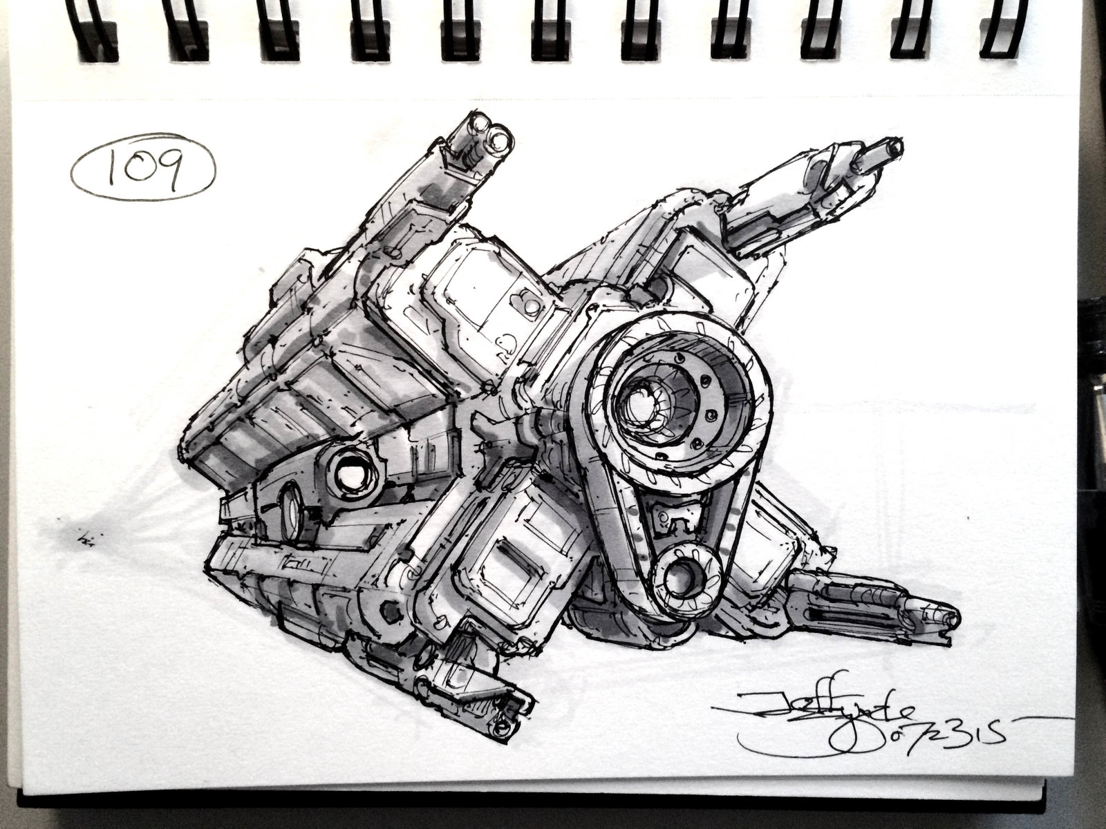 SpaceshipADay 109