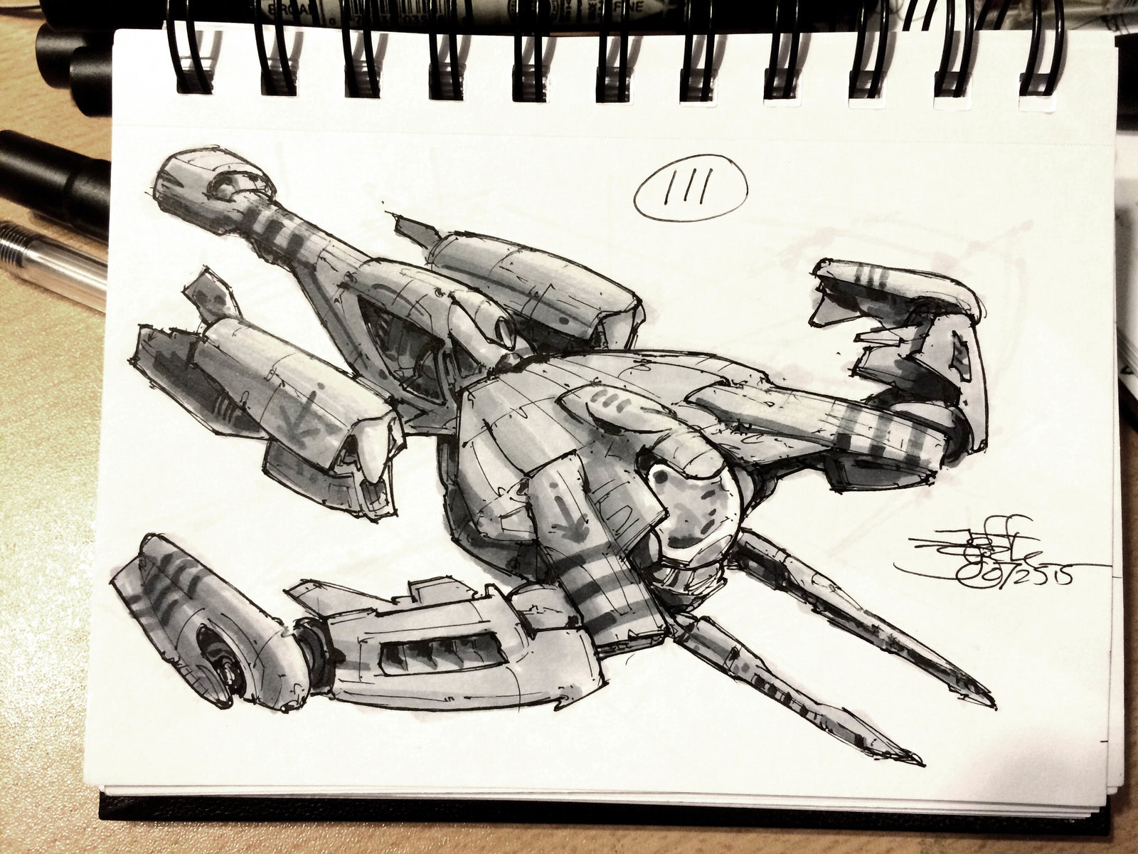 SpaceshipADay 111