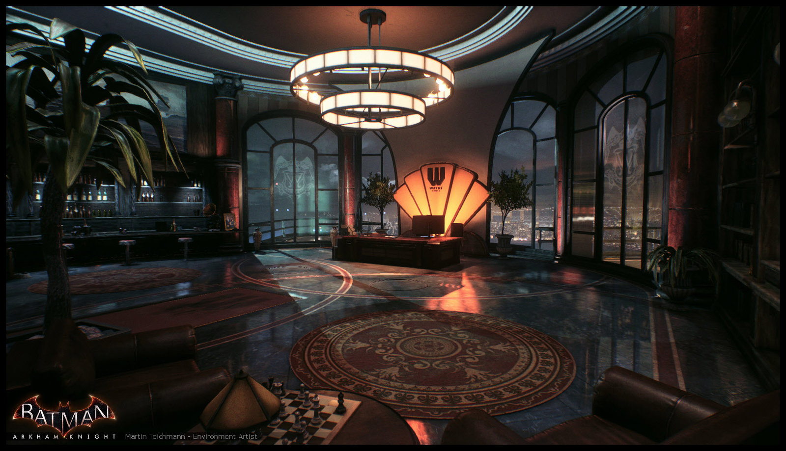 Wayne Office - Batman Arkham Knight