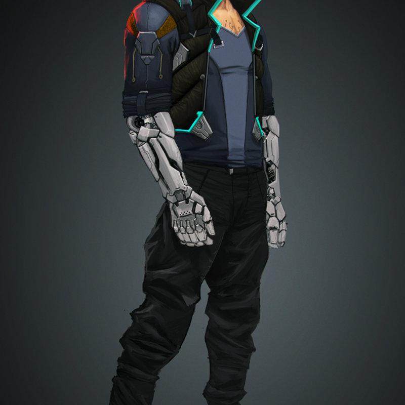 Hacker cyberpunk -wip-