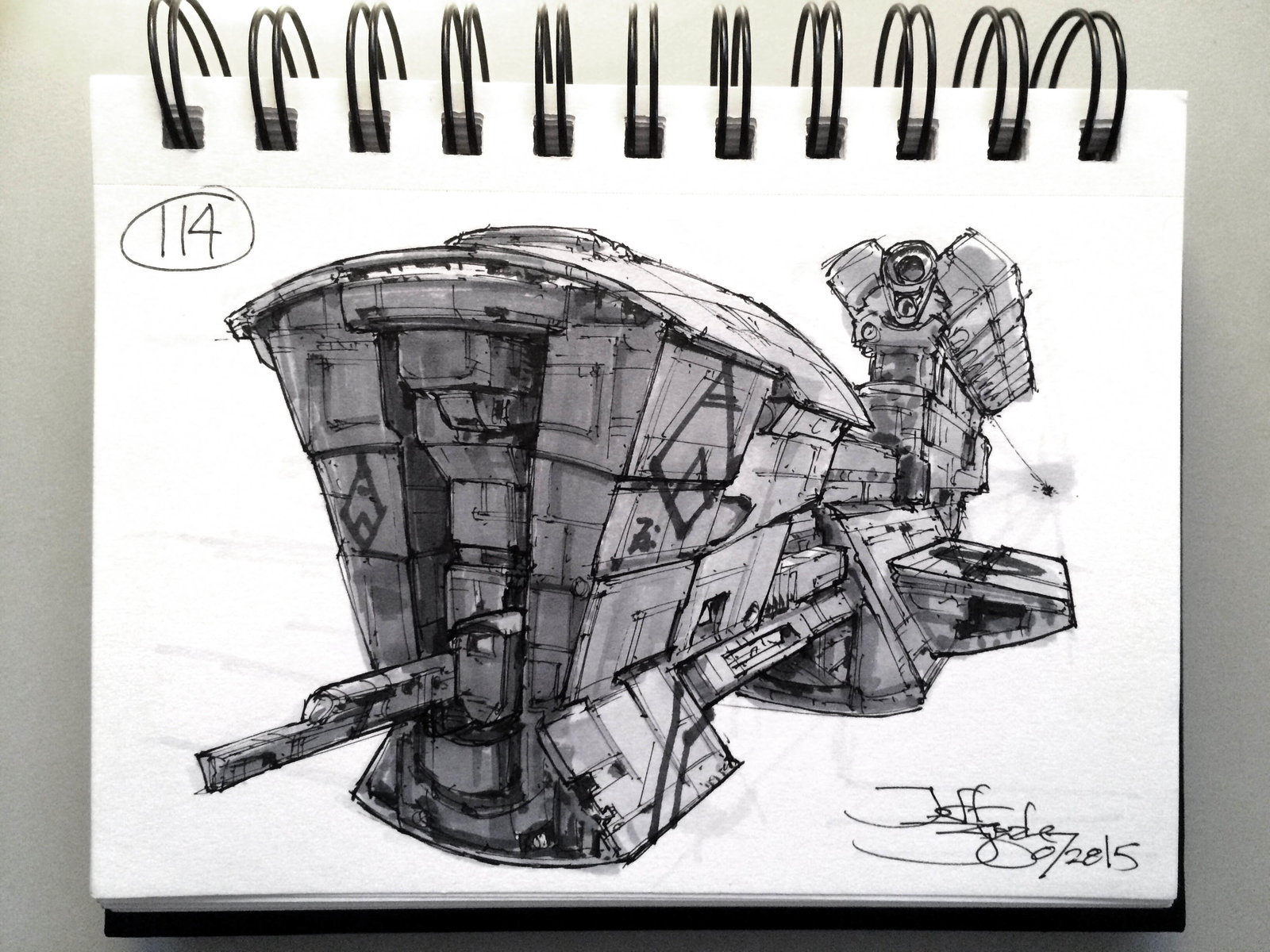 SpaceshipADay 114