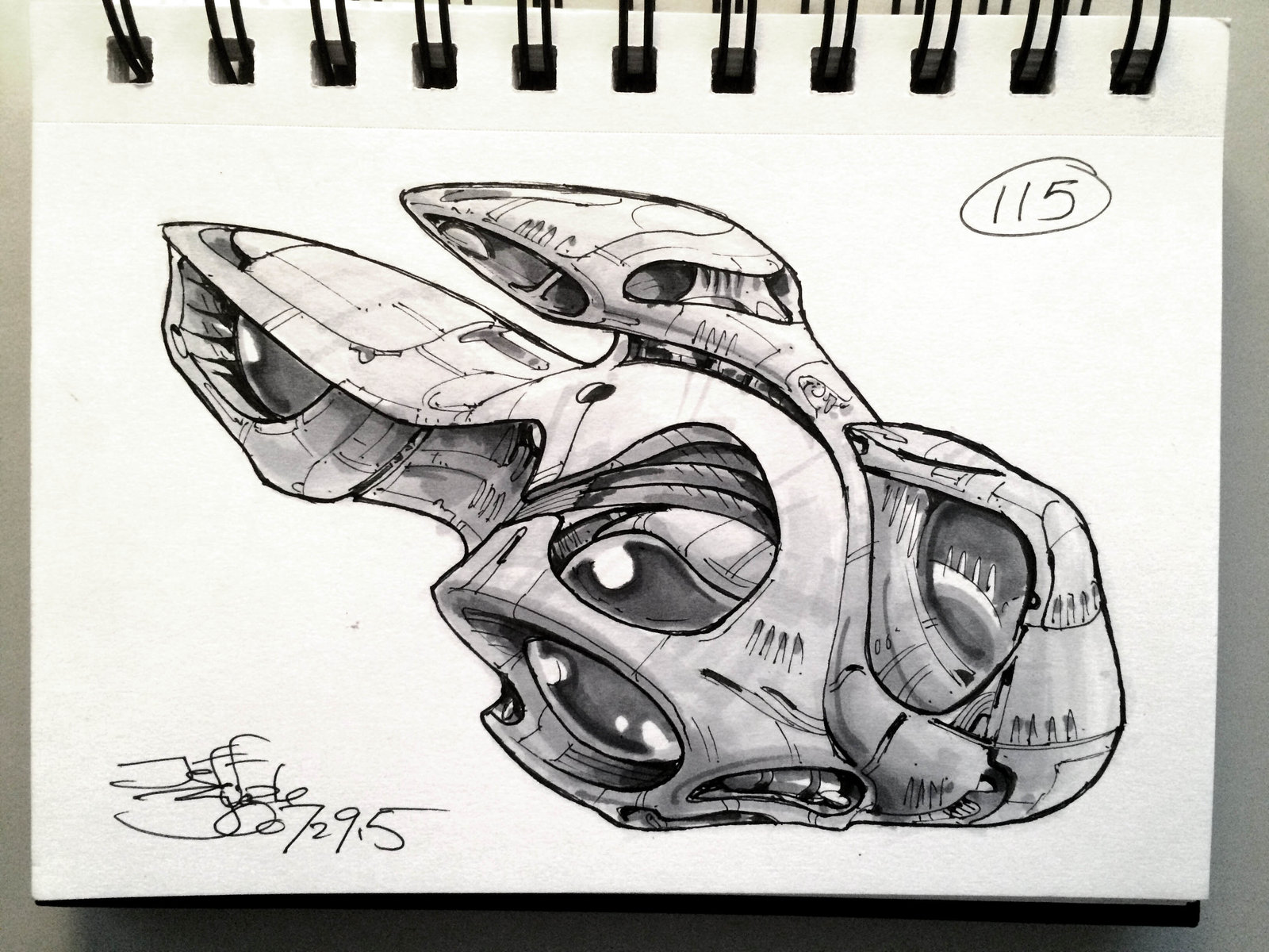 SpaceshipADay 115
