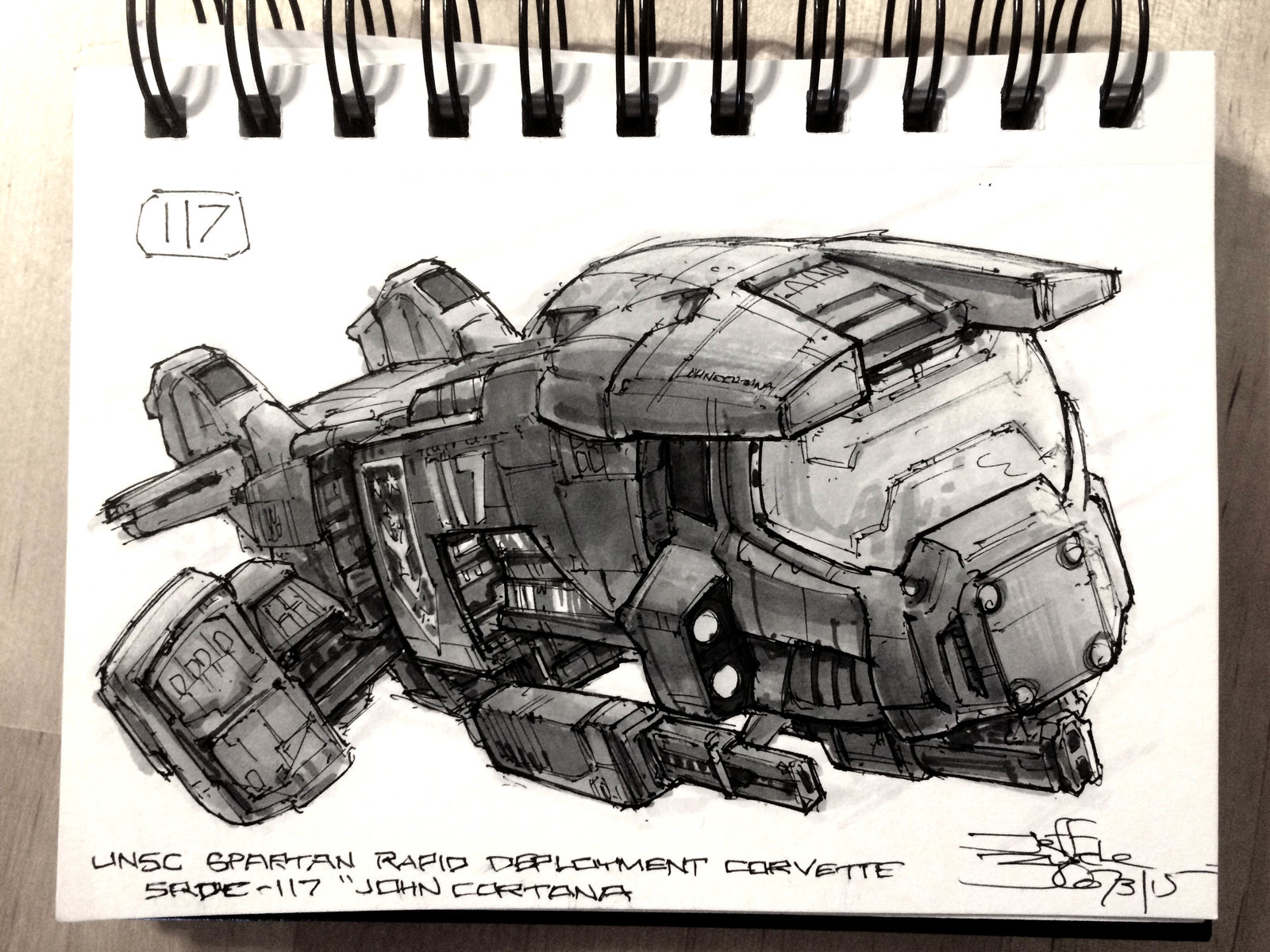 SpaceshipADay 117