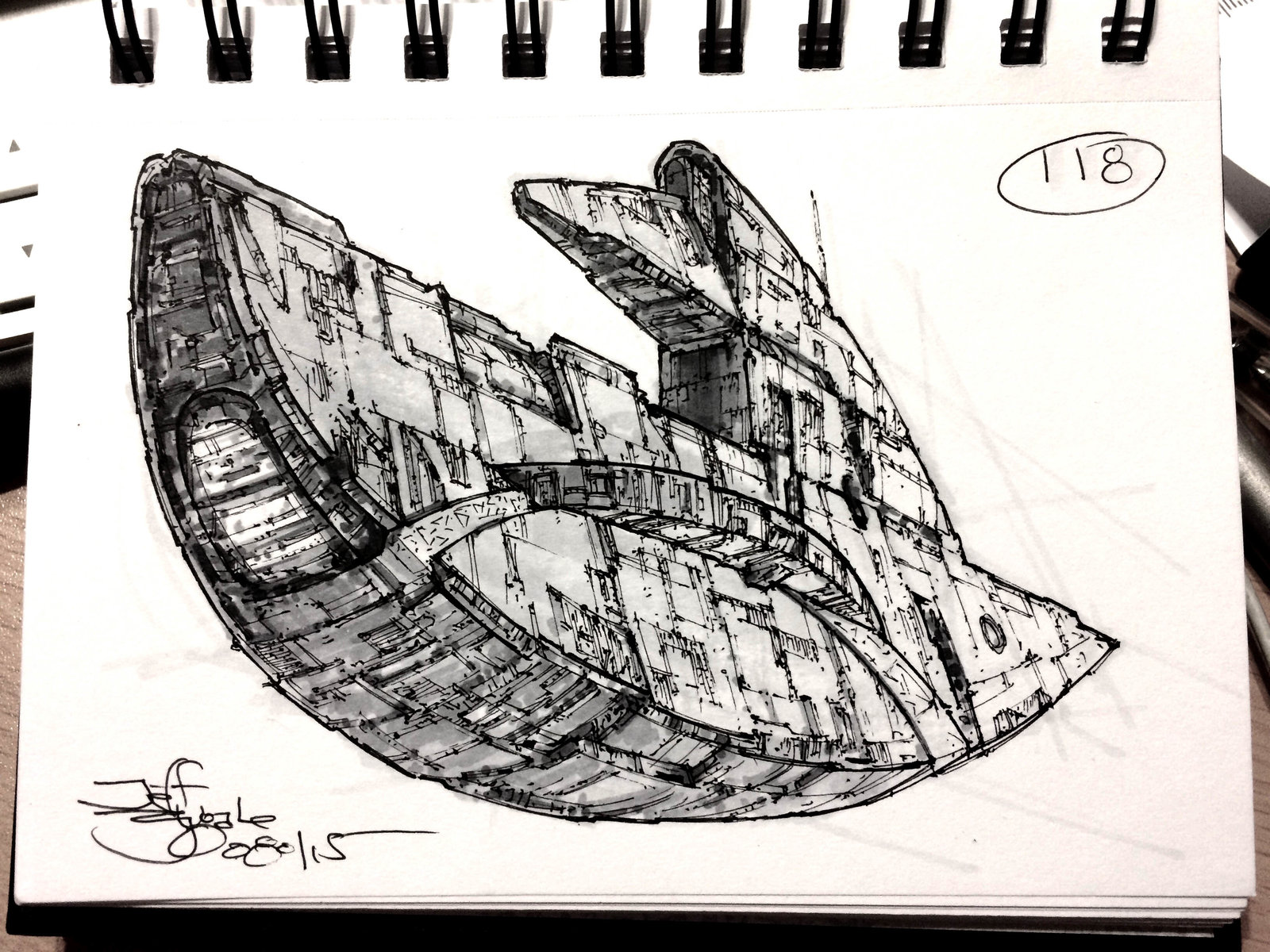 SpaceshipADay 118