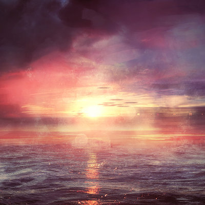 Dmitry bogoljubov sunset waves