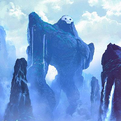Ibrahem swaid blue colossus l