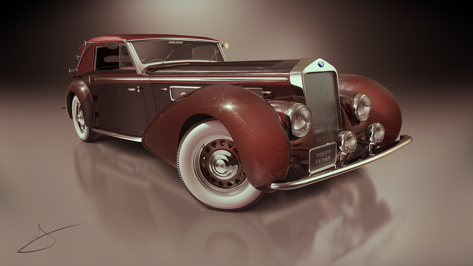 1939 Delage D8 120 Cabriolet Chapron