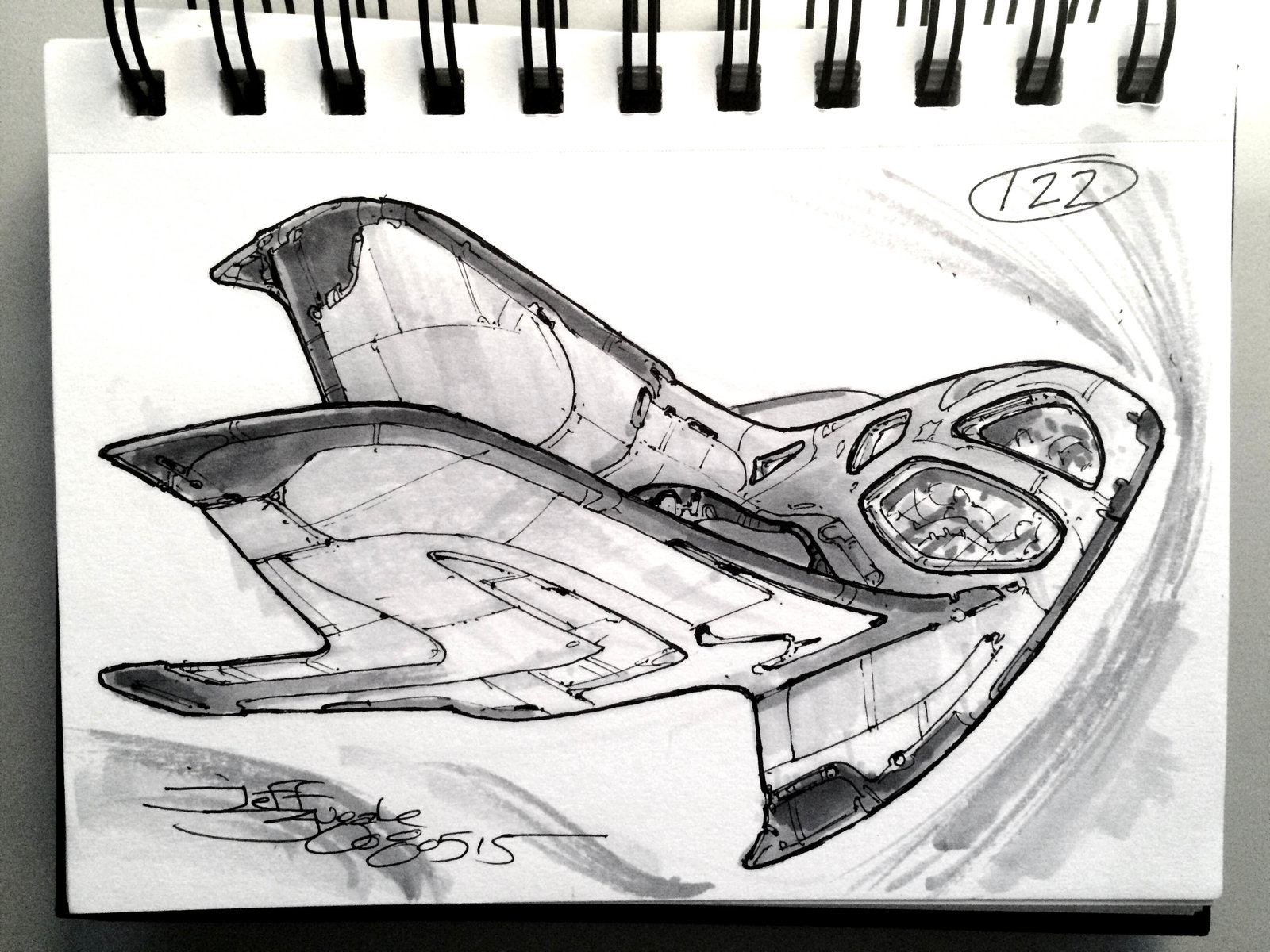 SpaceshipADay 122