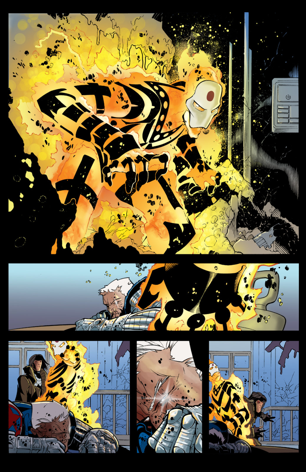 X-Men 200 pg 25 (Sample Colours)