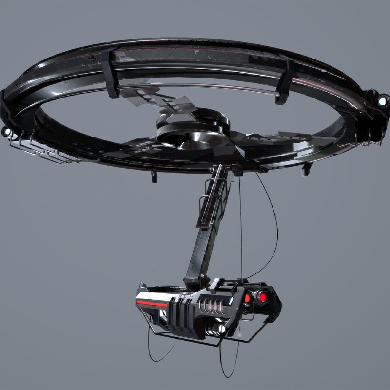 SciFi Surveillance Drone