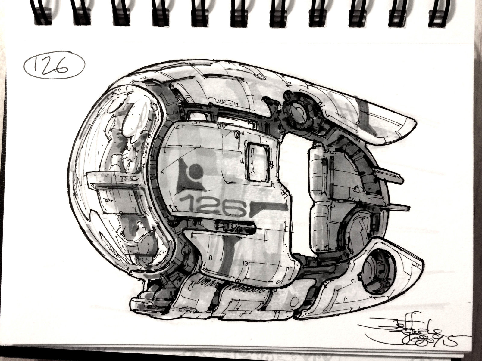 SpaceshipADay 126