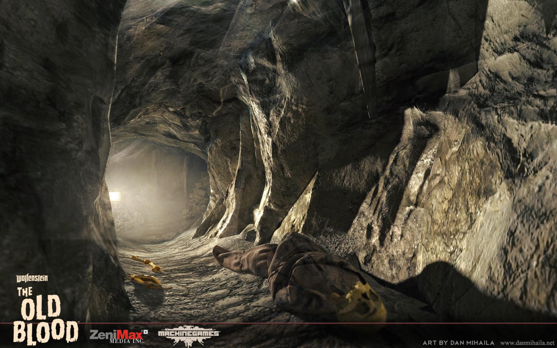 Artstation Wolfenstein The Old Blood Catacombs Dan Mihaila