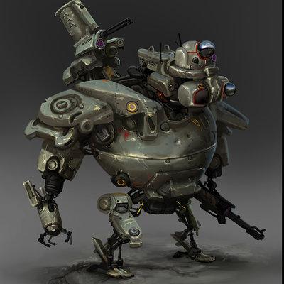 Alberto lemus robotconbosquejo