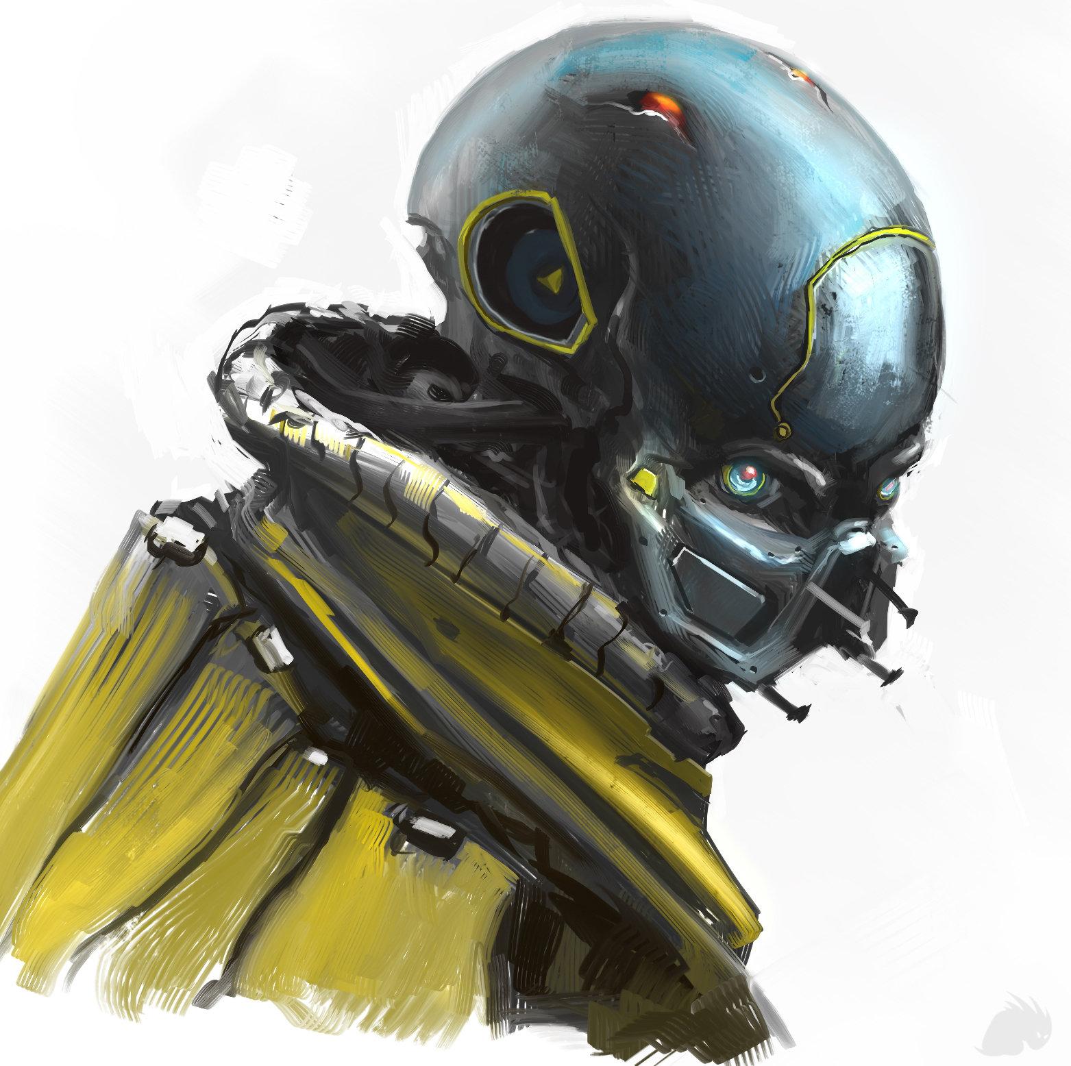 sci-fi bust 2