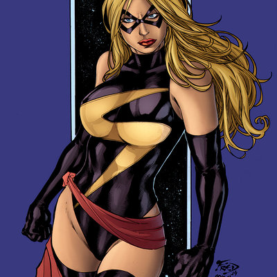 Matt james ms marvel by mattjamescomicarts d8p3czc