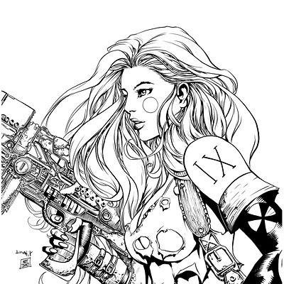 Matt james aphrodite ix by mattjamescomicarts d8mm1ga