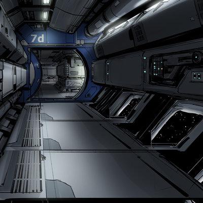 Isaac hannaford ih wafer hallway01