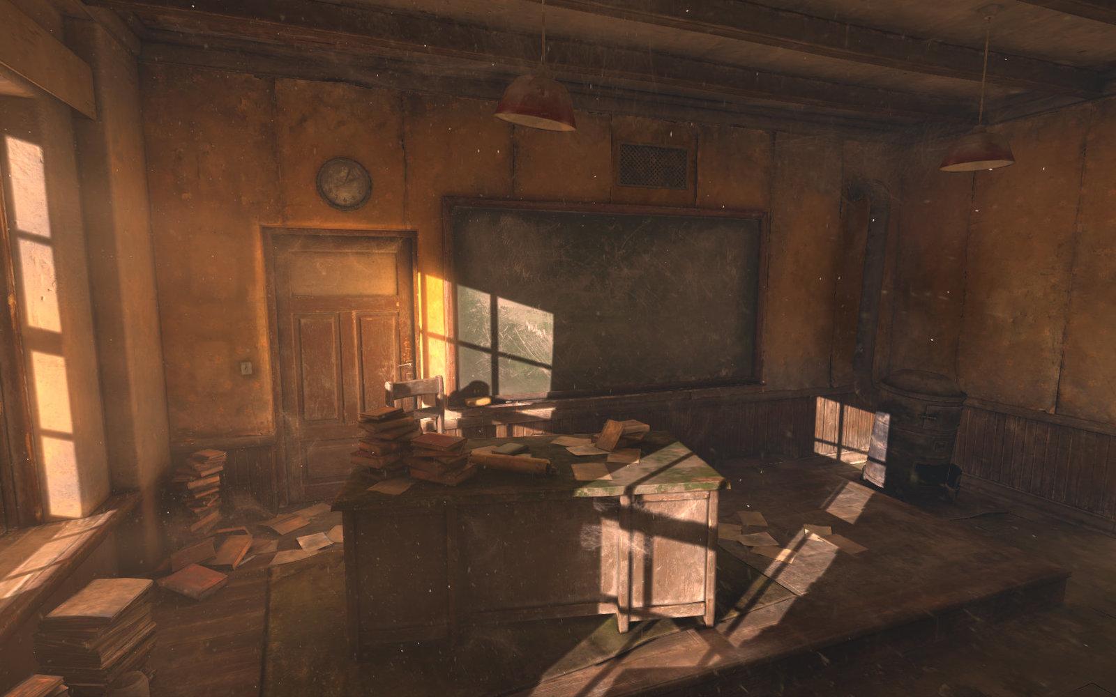 Abandoned Classroom (2015)
