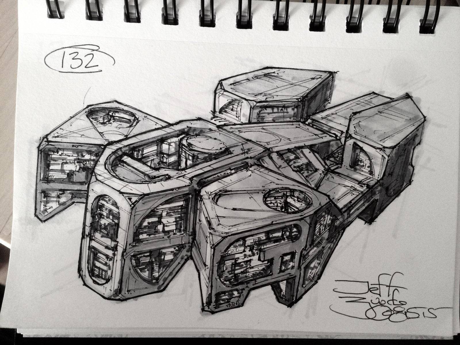 SpaceshipADay 132