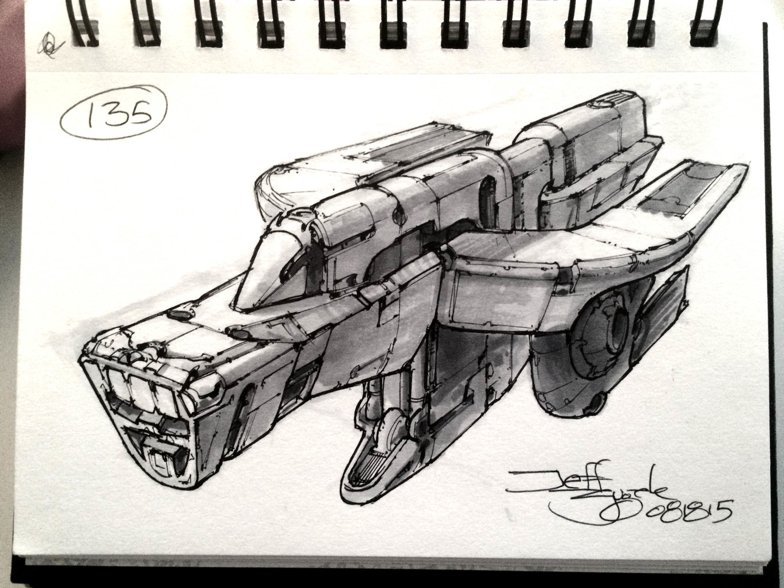 SpaceshipADay 135