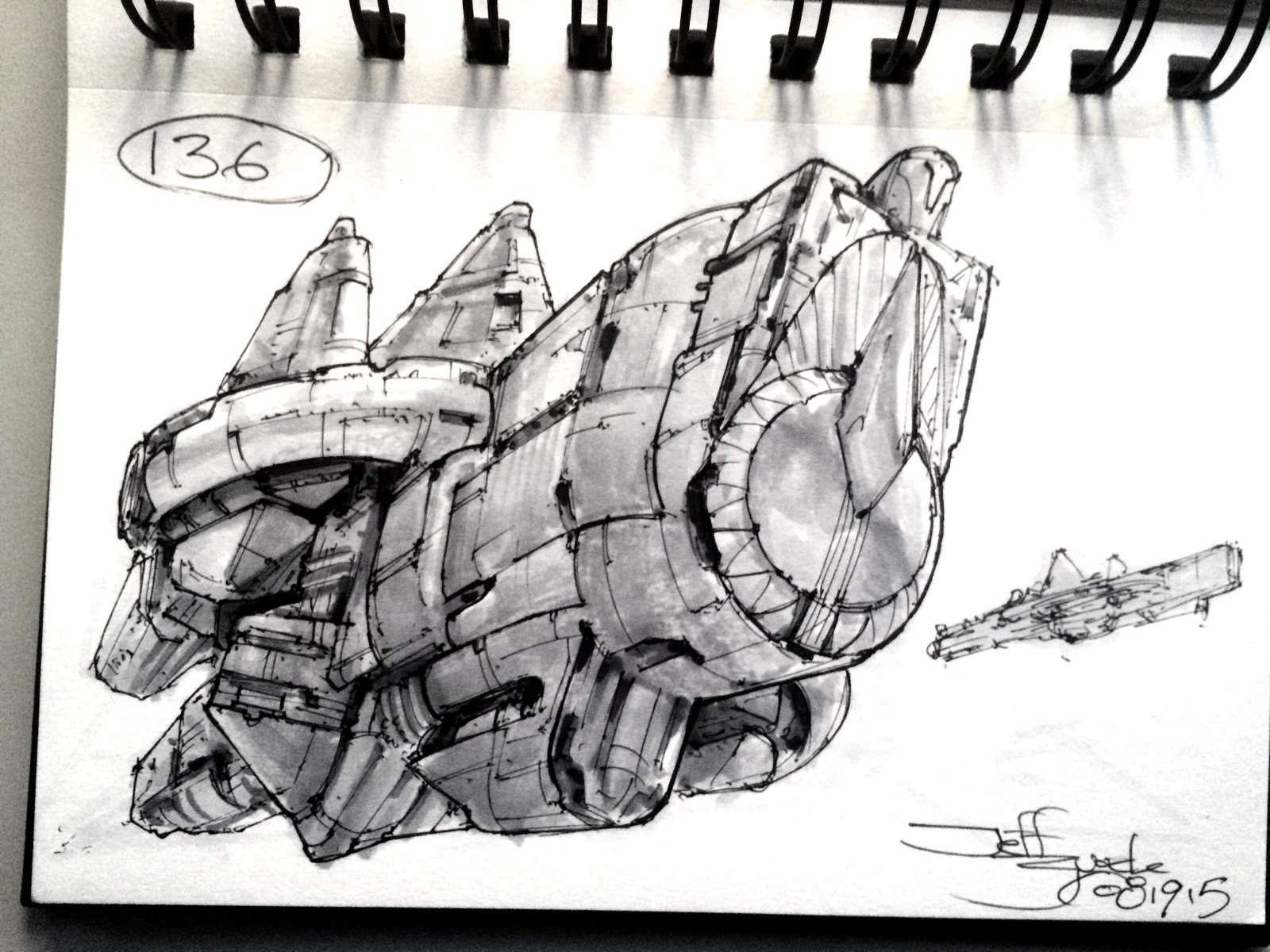 SpaceshipADay 136