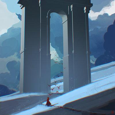 Tim kaminski snow arch 2