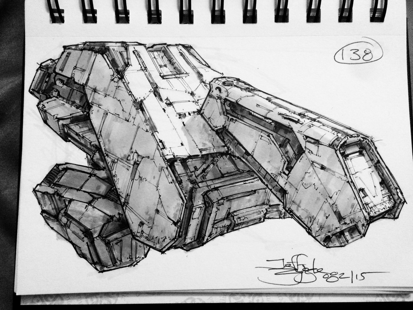 SpaceshipADay 138