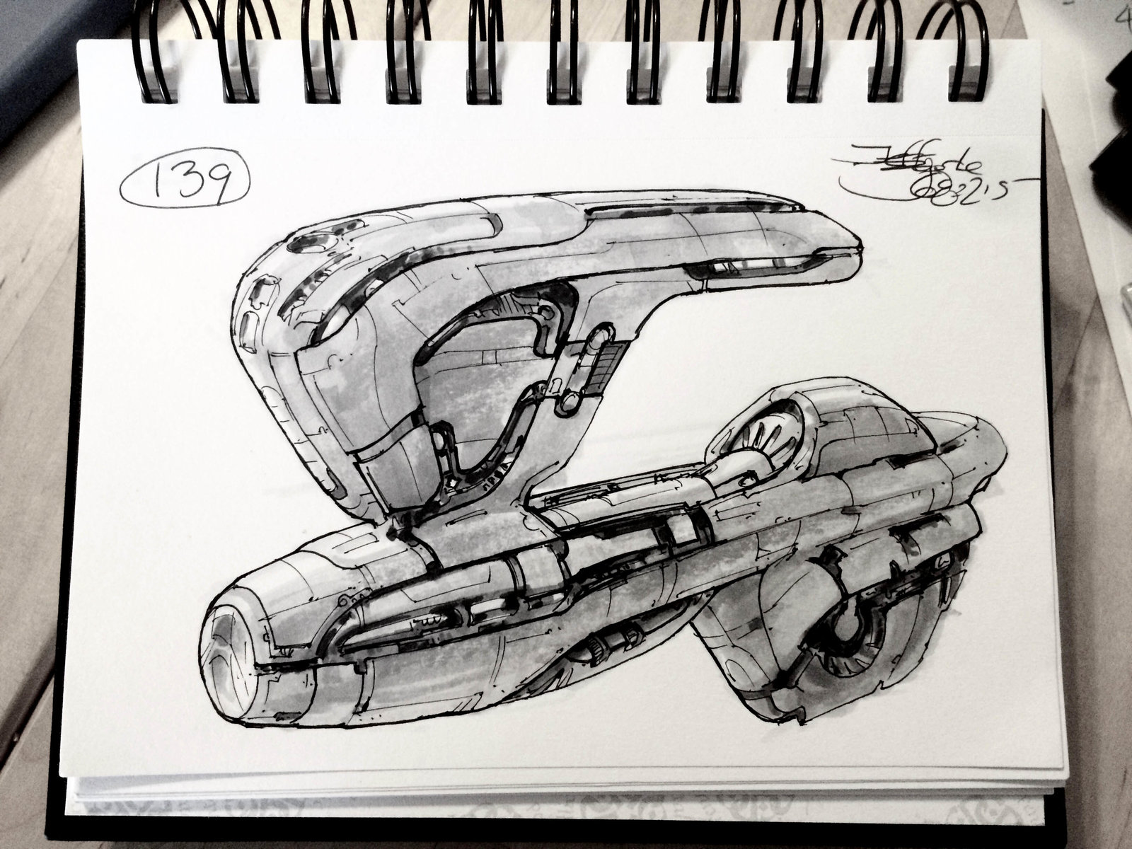 SpaceshipADay 139
