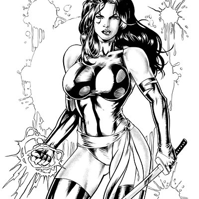 Matt james psylocke by mattjamescomicarts d97gfmu