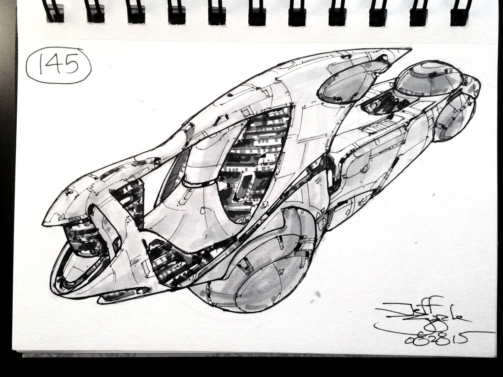 SpaceshipADay 145