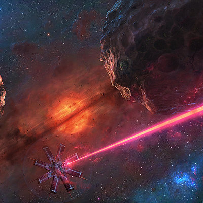 Tim barton attack on hephaestus 1600 by cosmicspark d96xha1