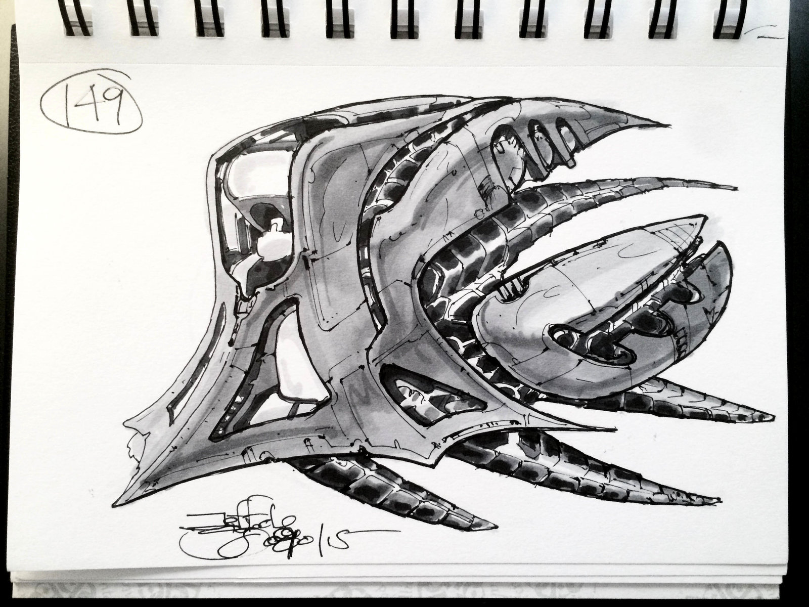 SpaceshipADay 149
