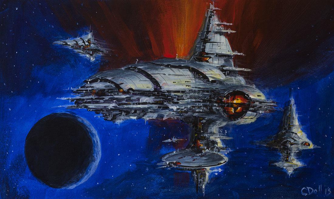 ArtStation - Space Fle...