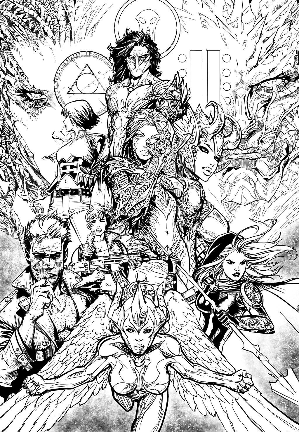 Artifacts Cover (Sample Inks)