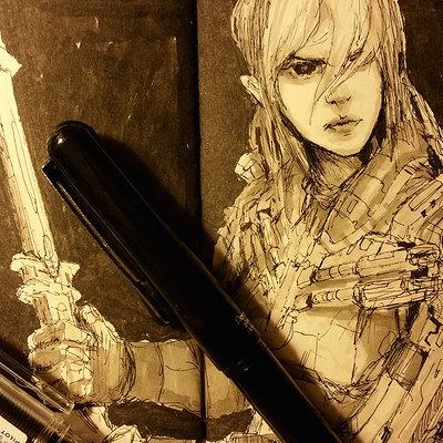 Muyoung kim sketchbook 32 wip