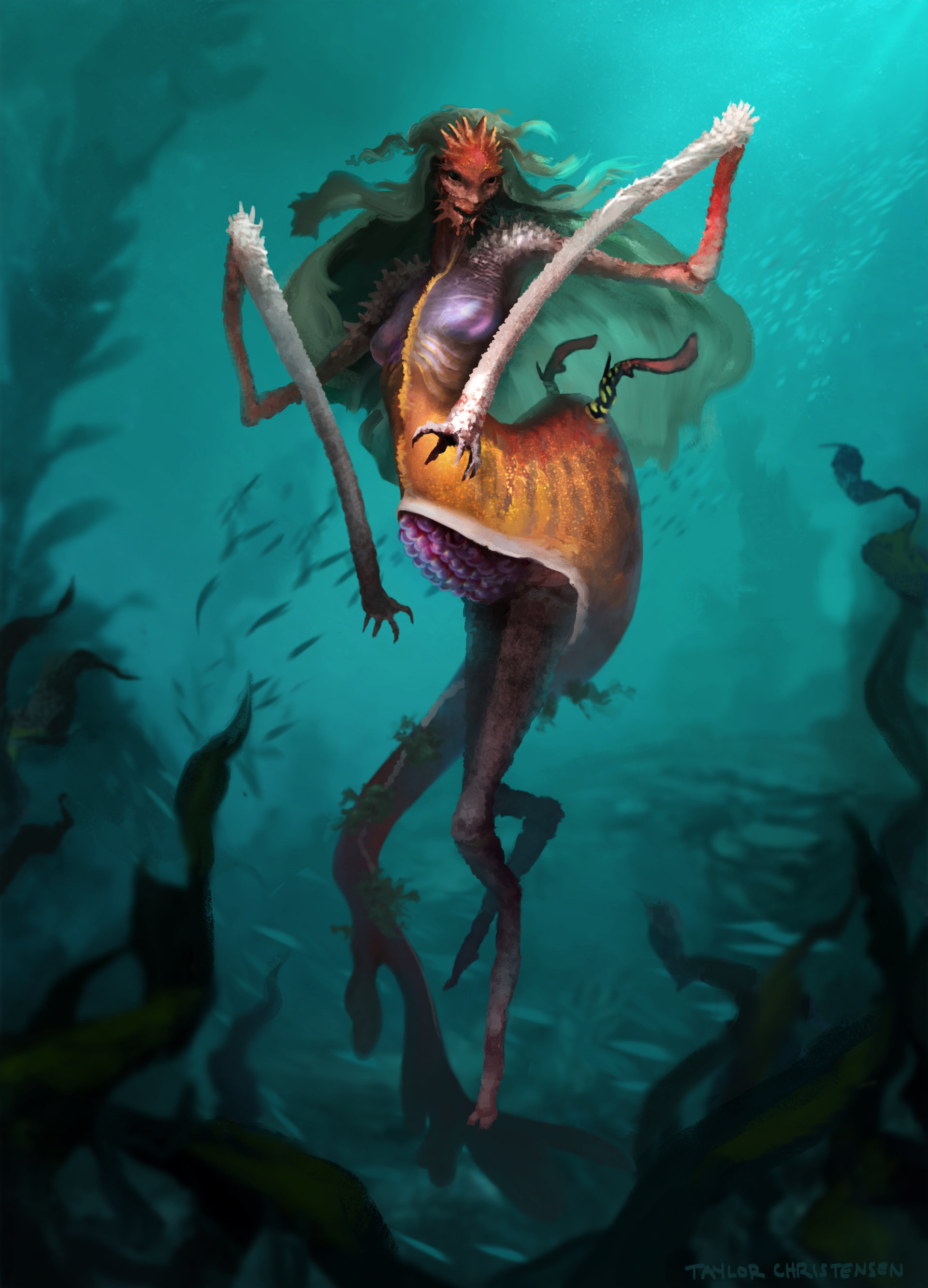 Картинки русалок с ногами