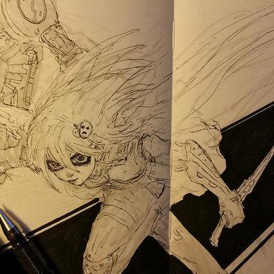 Muyoung kim sketchbook 36 wip