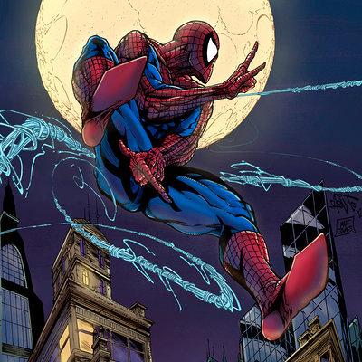 Matt james spiderman by mattjamescomicarts d7lktwp