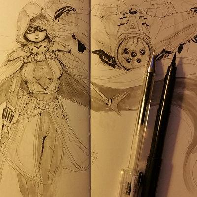 Muyoung kim sketchbook 38 wip